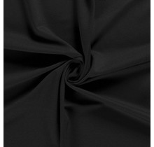 Jersey Viskose Polyamid schwarz 160 cm breit