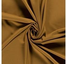 Jersey Viskose Polyamid ockergelb 160 cm breit