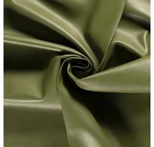 Nappalederimitat oliv 137 cm breit