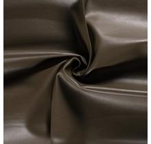 Nappalederimitat taupe braun 137 cm breit