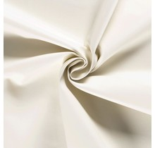 Nappalederimitat wollweiss 137 cm breit