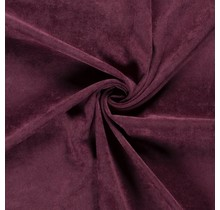 Feincord Stretch dunkelrosa 145 cm breit