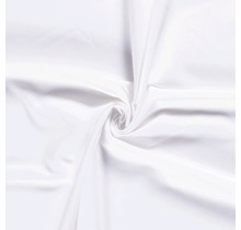 Bi-Stretch Gabardine weiss 145 cm breit