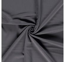Bi-Stretch Gabardine dunkelgrau 145 cm breit