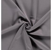 Bi-Stretch Gabardine taupe grau 145 cm breit