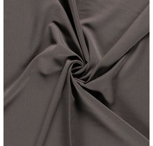 Bi-Stretch Gabardine taupe braun 145 cm breit
