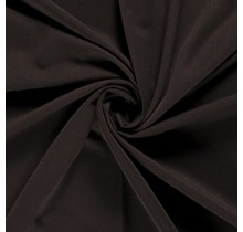 Bi-Stretch Gabardine dunkelbraun 145 cm breit