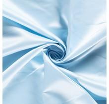 Duchesse Satin Uni babyblau 148 cm breit