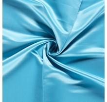 Duchesse Satin Uni aquablau 148 cm breit