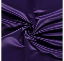 Duchesse Satin Uni aubergine 148 cm breit