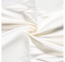 Duchesse Satin Uni wollweiss 148 cm breit