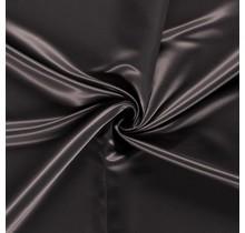 Duchesse Satin Uni taupe braun 148 cm breit