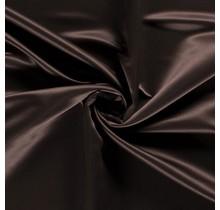 Duchesse Satin Uni dunkelbraun 148 cm breit