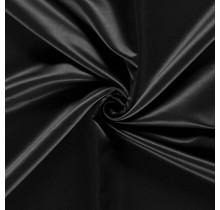 Duchesse Satin Uni schwarz 148 cm breit