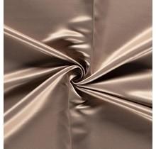 Duchesse Satin Uni beige 148 cm breit