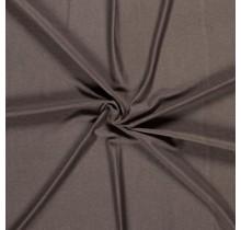 Viskose Jersey deluxe taupe braun 150 cm breit