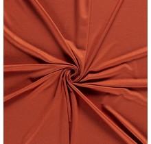 Viskose Jersey deluxe rostrot 150 cm breit
