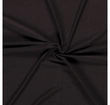 Viskose Jersey deluxe dunkelbraun 150 cm breit