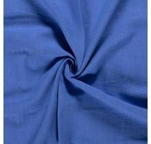 Leinen Stoff vorgewaschen königsblau 140 cm breit