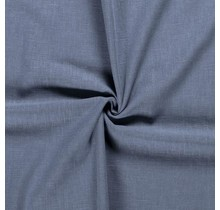 Leinen Stoff vorgewaschen indigoblau 140 cm breit