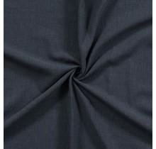 Leinen Stoff vorgewaschen dunkel navy 140 cm breit