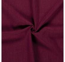 Leinen Stoff vorgewaschen bordeauxrot 140 cm breit