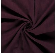 Leinen Stoff vorgewaschen dunkel bordeauxrot 140 cm breit