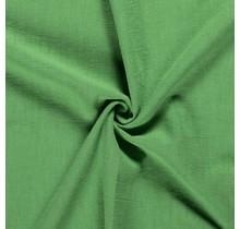 Leinen Stoff vorgewaschen grün 140 cm breit
