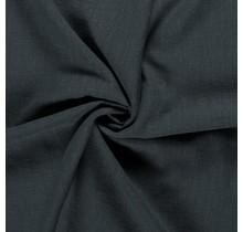 Leinen Stoff vorgewaschen dunkelgrün 140 cm breit