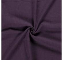 Leinen Stoff vorgewaschen lila 140 cm breit