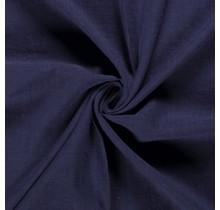 Leinen Stoff vorgewaschen dunkel lila 140 cm breit