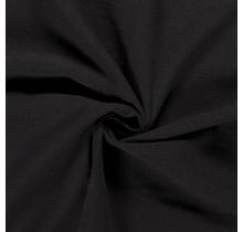 Leinen Stoff vorgewaschen schwarz 140 cm breit