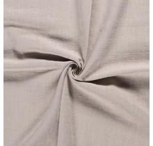 Leinen Stoff vorgewaschen hellgrau 140 cm breit