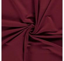 French Terry Premium bordeauxrot 155 cm breit