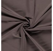 French Terry Premium taupe braun 155 cm breit