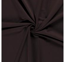French Terry Premium dunkelbraun 155 cm breit