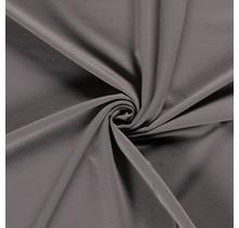 French Terry Premium taupe grau 155 cm breit