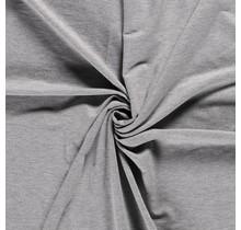 French Terry Premium meliert hellgrau 155 cm breit