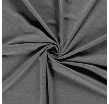 French Terry Premium meliert mittelgrau 155 cm breit