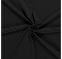 Jersey Viskose Premium schwarz 155 cm breit