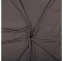 Jersey Viskose Premium taupe grau 155 cm breit