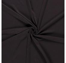 Jersey Viskose Premium dunkelbraun 155 cm breit