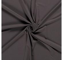 Jersey Viskose Premium taupe braun 155 cm breit