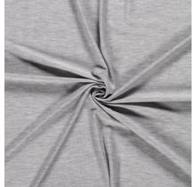 Jersey Viskose Premium meliert hellgrau 155 cm breit
