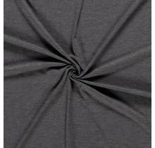Jersey Viskose Premium meliert mittelgrau 155 cm breit