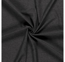 Jersey Viskose Premium meliert dunkelgrau 155 cm breit