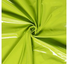 Lackstoff lindgrün 138 cm breit