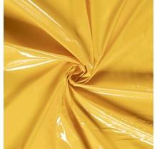 Lackstoff gelb 138 cm breit