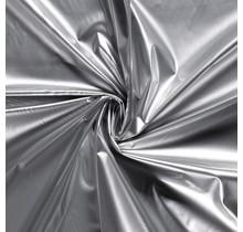 Lackstoff silber 138 cm breit
