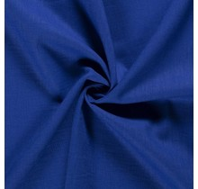 Leinen Ramie medium königsblau 138 cm breit